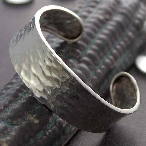 Wide Textured Cuff