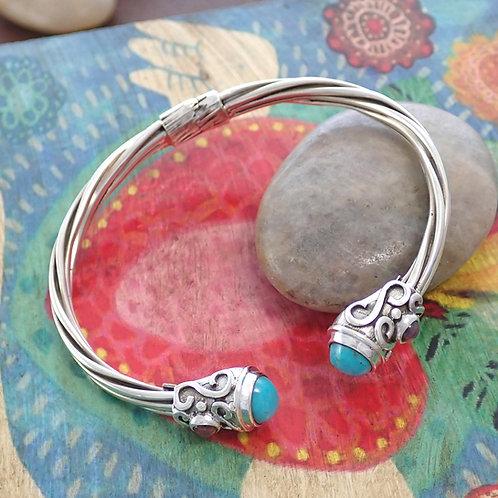 Mayan Stone Bracelet