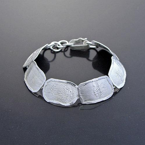 Textured Link Bracelet