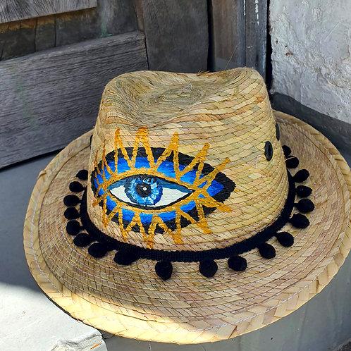 Mykonos Eye Panama Hat