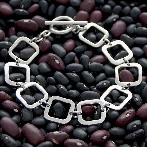 Textures Squares Bracelet