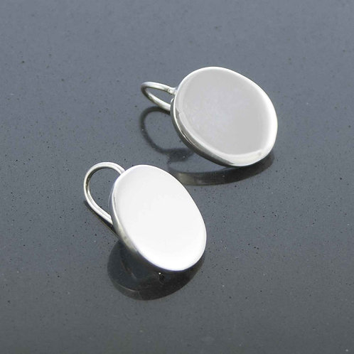 Solid Oval Earrings