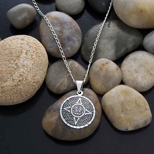 Mayan Star Pendant Necklace