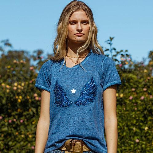 Saint T-Shirt Indigo