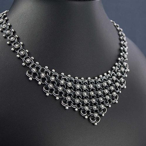 Filigre Triangle Necklace