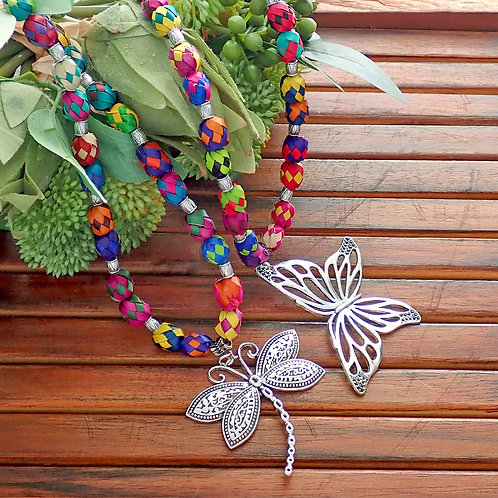 Renata Large Charm Necklace