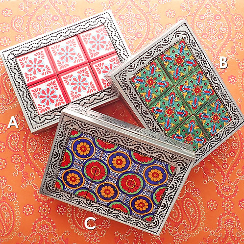 Rectangle Tile Trinket Box
