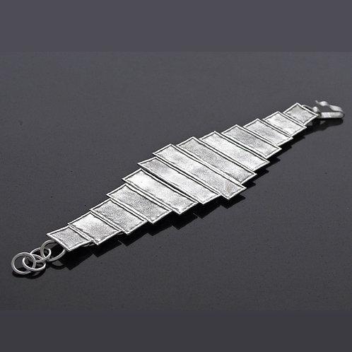 Textured Rectangle Bracelet