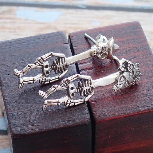 Dancing Skeleton Earrings