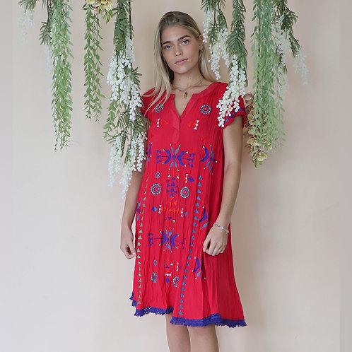 Zelig Red Dress