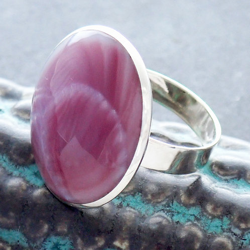 Lilac Cocktail Ring