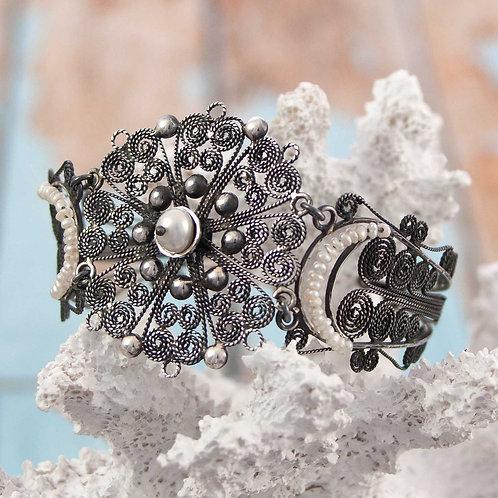 Filigre & Pearl Bracelet