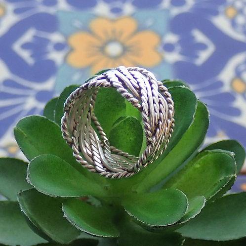 Ornate Twist Ring
