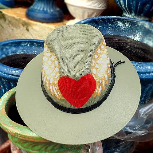 Winged Heart Safari Hat