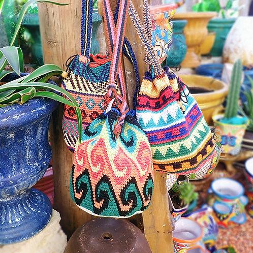 Hand Crochet Bucket Bags