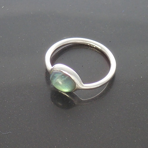 Delicate Oval Ring