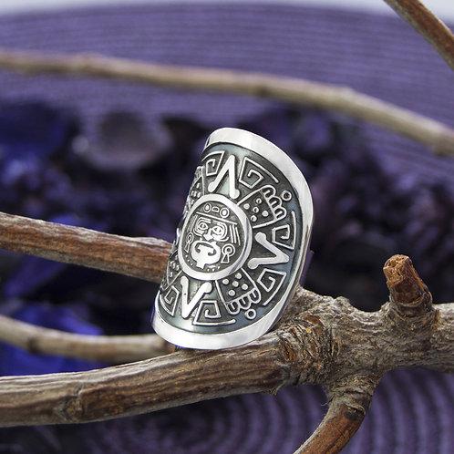 Mayan Calendar Ring