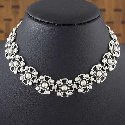 Floral Cross Necklace