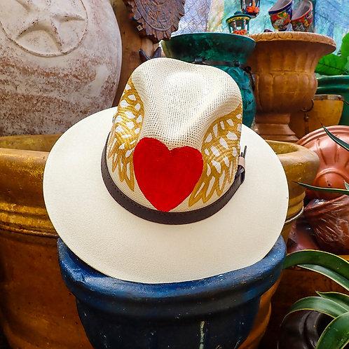 Winged Heart Panama Hat