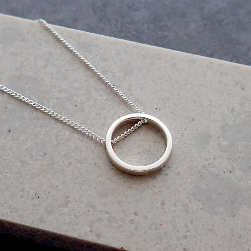 Small Ring Necklace