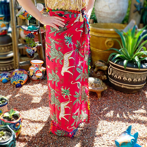 Jungle Theme Sarong
