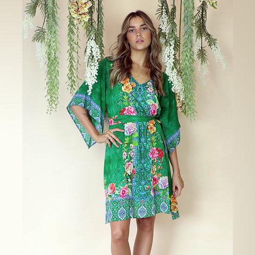 Valeria Emerald MIDI  Dress