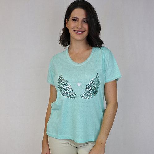 Saint T-Shirt Aqua