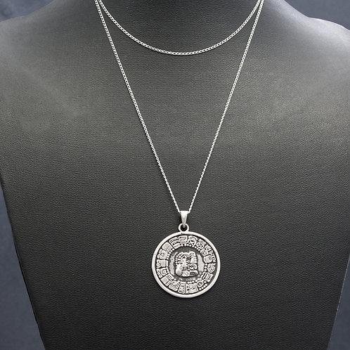 Mayan Calendar Pendant
