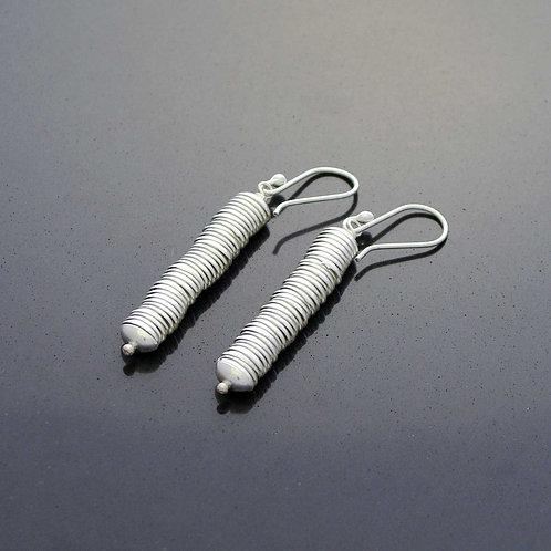 Silver Slink Earrings