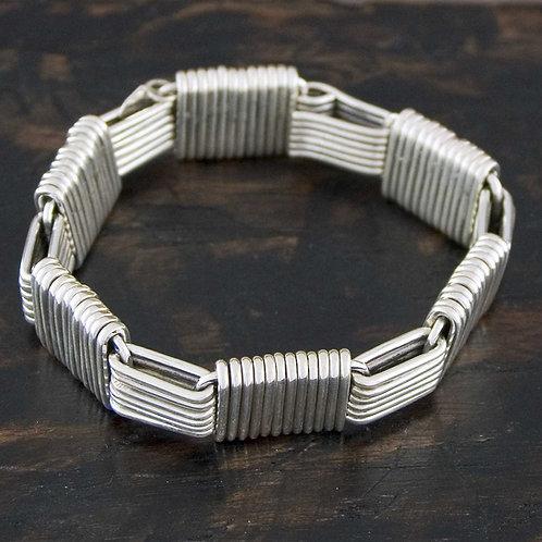 Cross Strand Bracelet