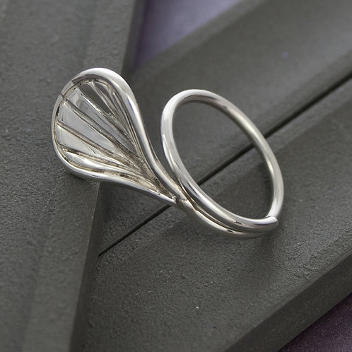 Silver Shell Ring (large)