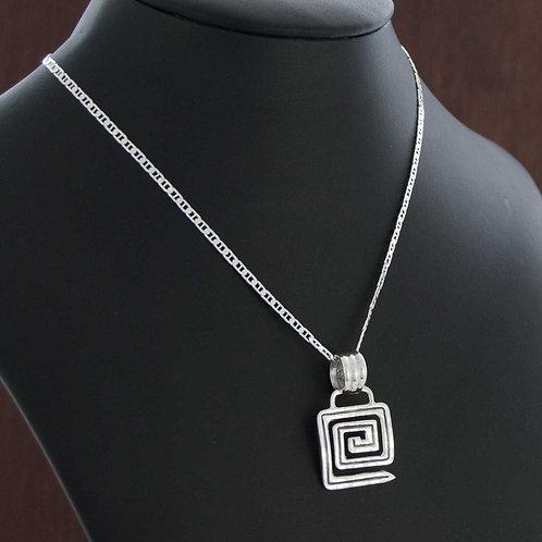 Square Maze Necklace