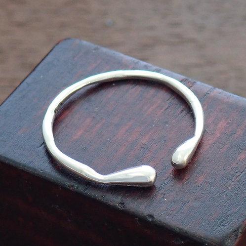 Herringbone Ring