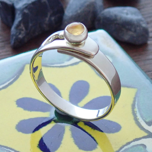 Stone Link Ring