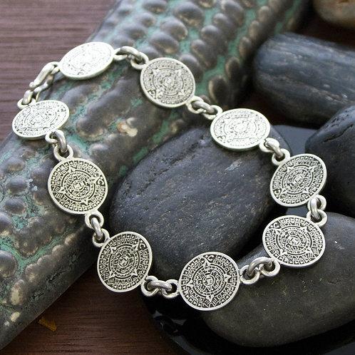 20cm Mayan Small Disk Bracelet