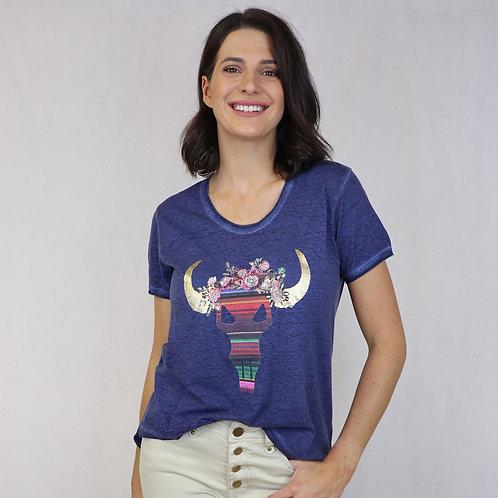 Mexicana T-Shirt Indigo