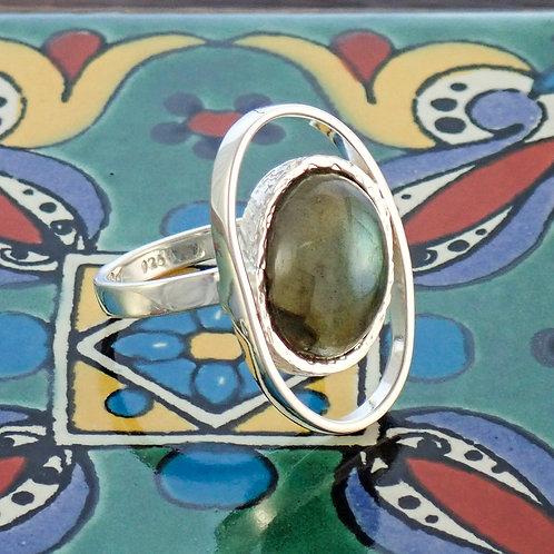 Labradorite Dress Ring