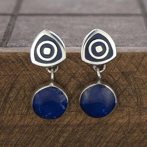 Petite Stone Earrings