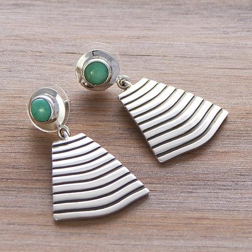 Aztec Drop Earrings