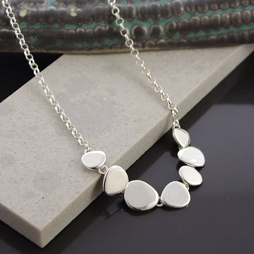 Abstract Disk Necklace