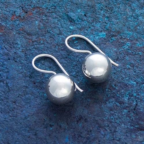 Small Ball Drop Earrings