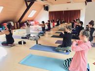 Yoga day Klasse