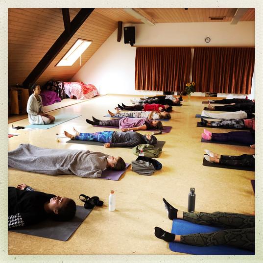 Yoga Day Shavasana