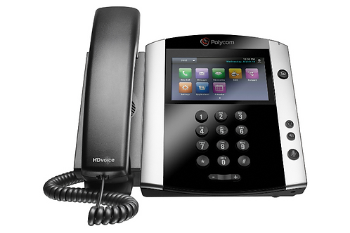 Polycom VVX 601 16-line Business Media Phone with built-in Bluetooth + HD Voice