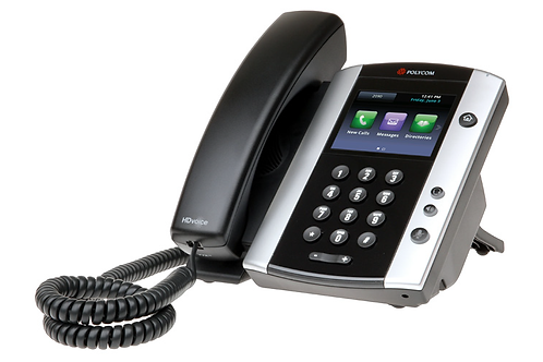 Polycom VVX 500 12-line Business Media Phone with HD Voice, PoE