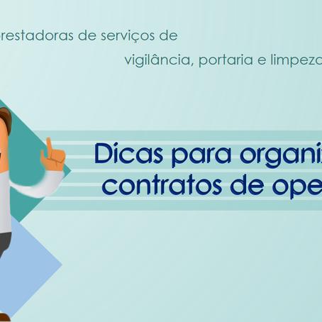 Dicas para organizar contratos de operações