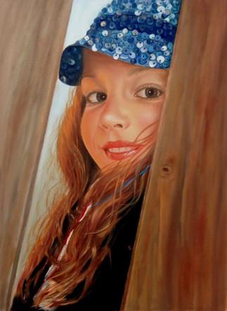 "Isabella | 24"" x 28"" | Oil/Canvas"