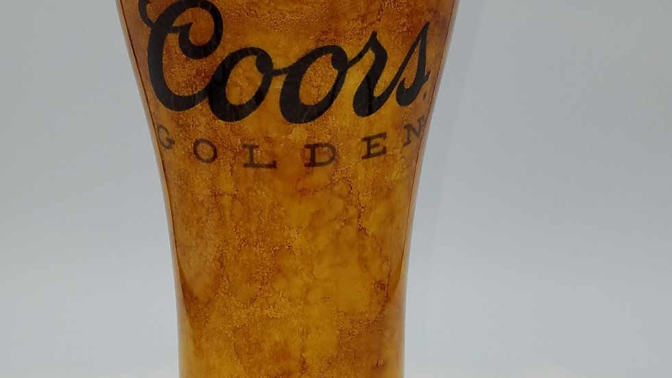 24 oz Coors Golden Pilsner Double Walled Stainless Steel Tumbler