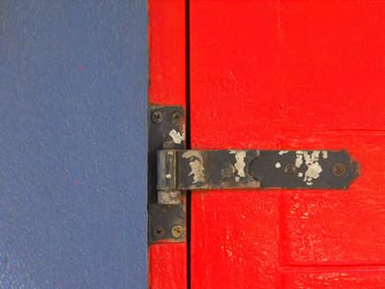 "Beyond the Red Door | 8"" x 10"" | Photograph"