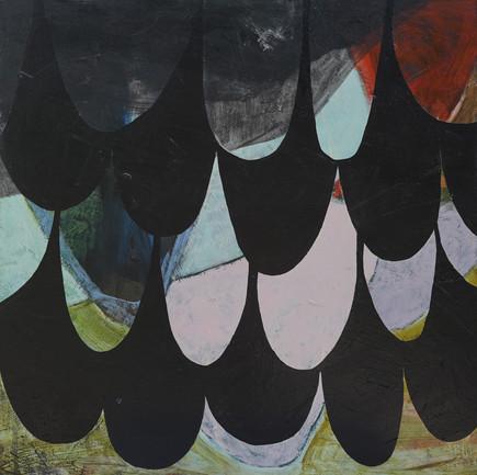 "Wings | 24"" x 24"" | Acrylic on Cradled Board"